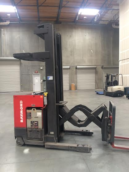 Raymond Stand Up EASI-DR25TT - Used Forklifts Los Angeles - Call ...
